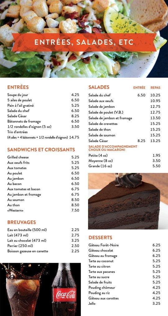 Restaurant chez Henri - Menu livraison - Page 2