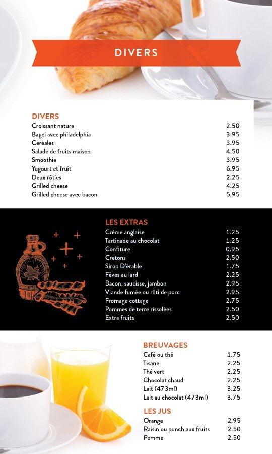 Restaurant chez Henri - Menu salle à manger - Page 5