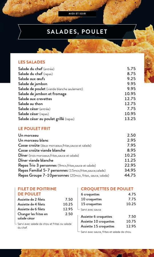 Restaurant chez Henri - Menu salle à manger - Page 7